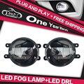 AKD Car Styling para LEXUS GX470 GX 470 Antiniebla LED guía de Luz de la lámpara Luz de NIEBLA DRL Luces Diurnas de Automóviles accesorios