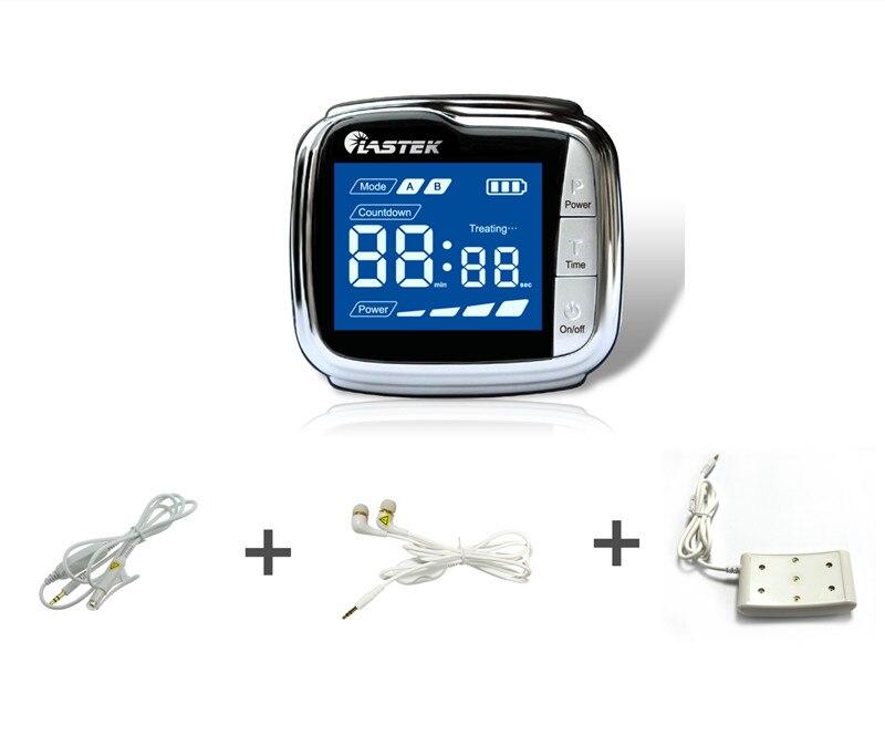 20 diodes laser dispositif de soulagement de la douleur appareil de pression artérielle appareil de thérapie laser à froid pour acouphènes perte auditive oreille sonnante