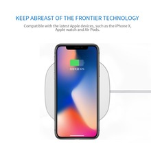 Fast Charge Wireless Charging for iPhone X/8/8Plus Samsung S6/S6 edge/S6 Note