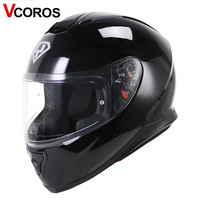 VCOROS Fashion Full Face Motorcycle Helmet Individuality YOHE 976 Motorbike Man Helmet Sun Visor Moto Helmets