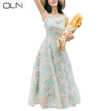 dress Korean vestidos summer new arrival OLN wholesale High