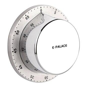 Contador de Tempo Para O Cozimento de Alimentos Cozinha Timer de cozinha magnética 60 Minutos Mecânica Temporizador Lembrete Contagem Regressiva Temporizador Suprimentos Novo