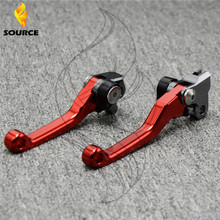 motorcycle accessories increased torque of cnc pivot brake clutch levers For HONDA CR125R 250R CRF 125R