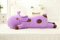 Stuffed Animal 80cm Deer Plush Toys Large Plush Pillow 5 Color With Good PP Cotton Giraffe
