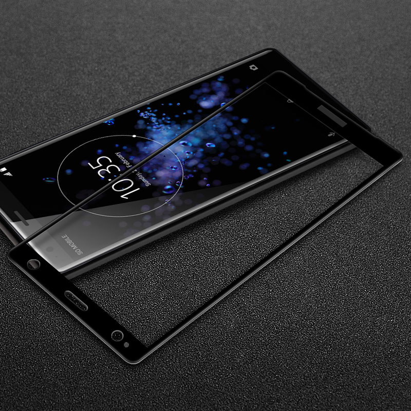 US $6 02 6% OFF|IMAK Full Screen for Sony Xperia XZ2 Compact Tempered Glass  Sony XZ2 Screen Protector for Sony Xperia XZ2 Glass Anti explosion-in