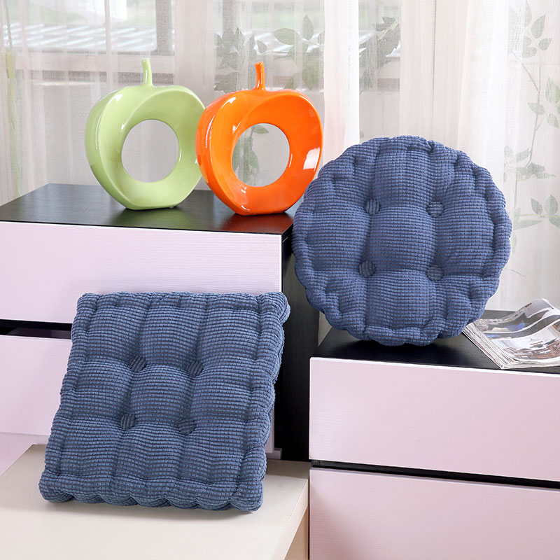Home-Decor Chairs Seat-Cushion Round/square-Seat New Nordic-Abrasive-Material Adult Keep-Worm