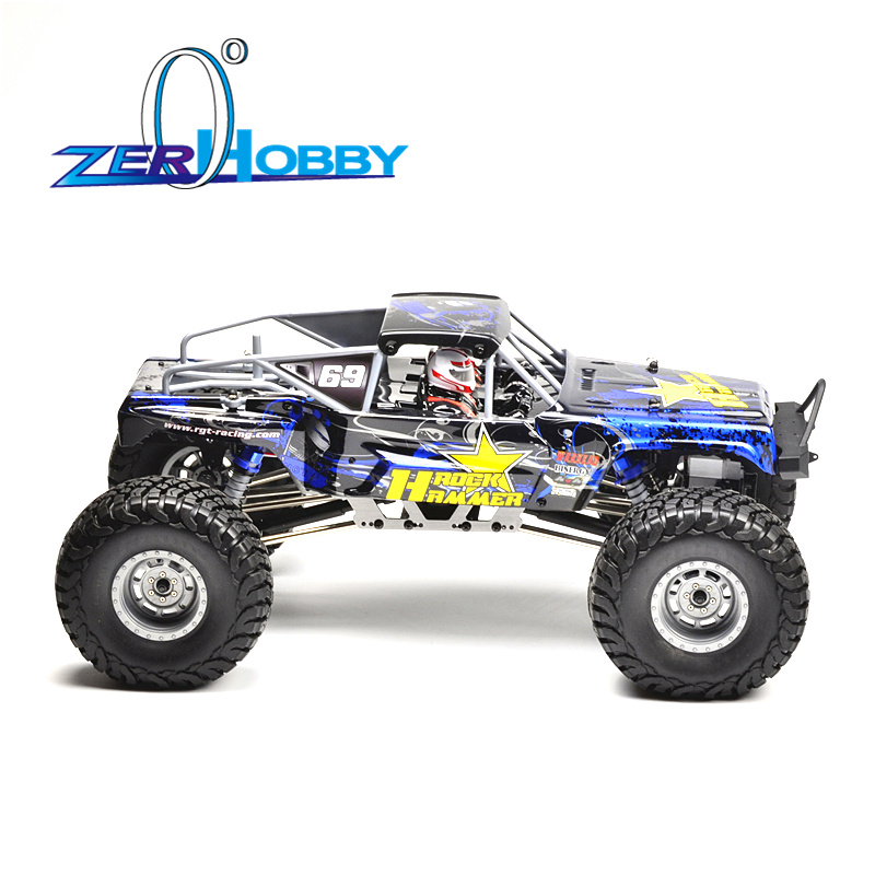 RGT RC Car 1:10 4wd Off Road Rock Crawler 4x4 Electric Power Waterproof Hobby Rock Hammer RR-4 18000 Truck Toys for Kids