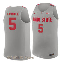 53614f986 NCAA Mens Ohio State Havlicek 5 white jerseyes Tops Can Customized Any  Number   Any Name