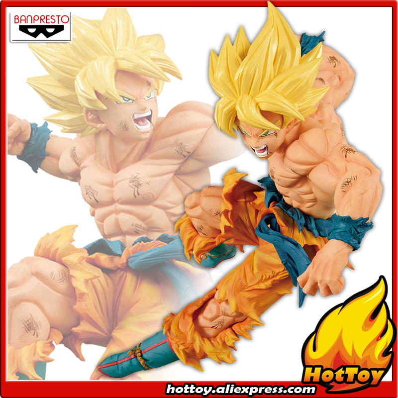 100% Original Banpresto MATCH MAKERS Vol.1 Collection Figure - SUPER SAIYAN Son Goku Gokou From Dragon Ball Z 100% original banpresto resolution of soldiers collection figure vol 1 super saiyan son gokou from dragon ball z