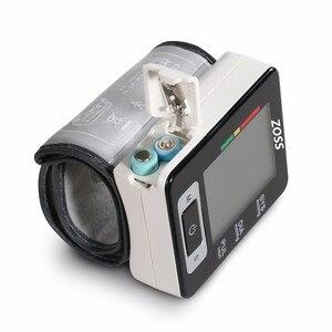 Image 4 - ZOSS 영어 또는 러시아어 음성 커프 손목 혈압계 혈압 측정기 모니터 심장 박동 펄스 휴대용 Tonometer BP