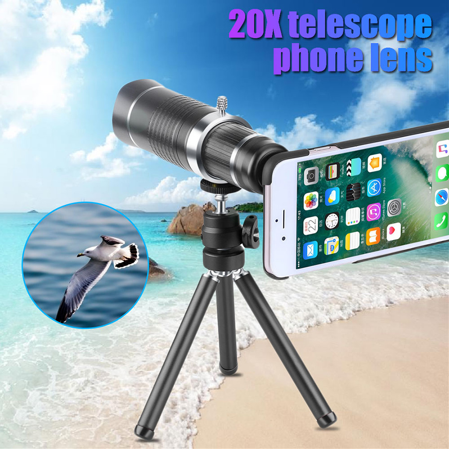 20X Zoom Mobile Phone Lens best price in bangladesh