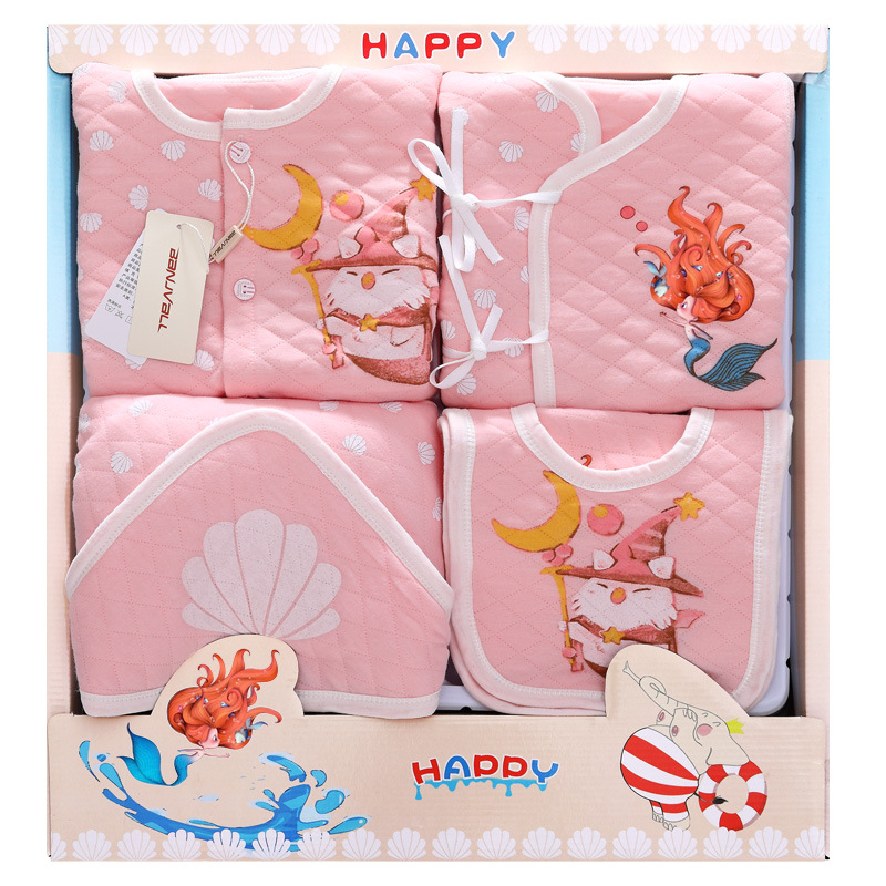 Mermaid Thick Newborn baby girls Clothing 0-6months infants baby clothes girl boys clothing baby gift set without box emotion moms 29pcs set newborn baby girls clothes cotton 0 6months infants baby girl boys clothing set baby gift set without box
