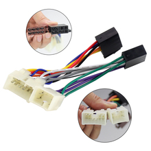 aupart iso wiring harness adapter plug cable for toyota rav4 solara yaris  lexus mr2