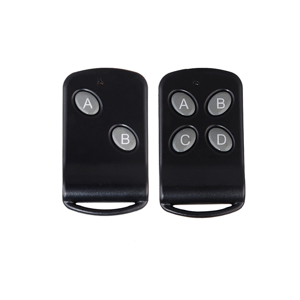 Black Remote Control Rf Radio Transmitter Tx 1 Button 2 Button Black Color Wireless Remote 2260/1527 For Light Remote Switch Lights & Lighting