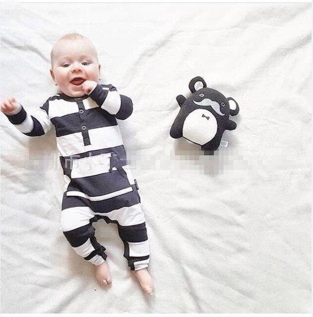 4a4191c0b7951 2019 otoño Bebé Ropa de niño de moda de manga larga mamelucos de bebé  recién nacido