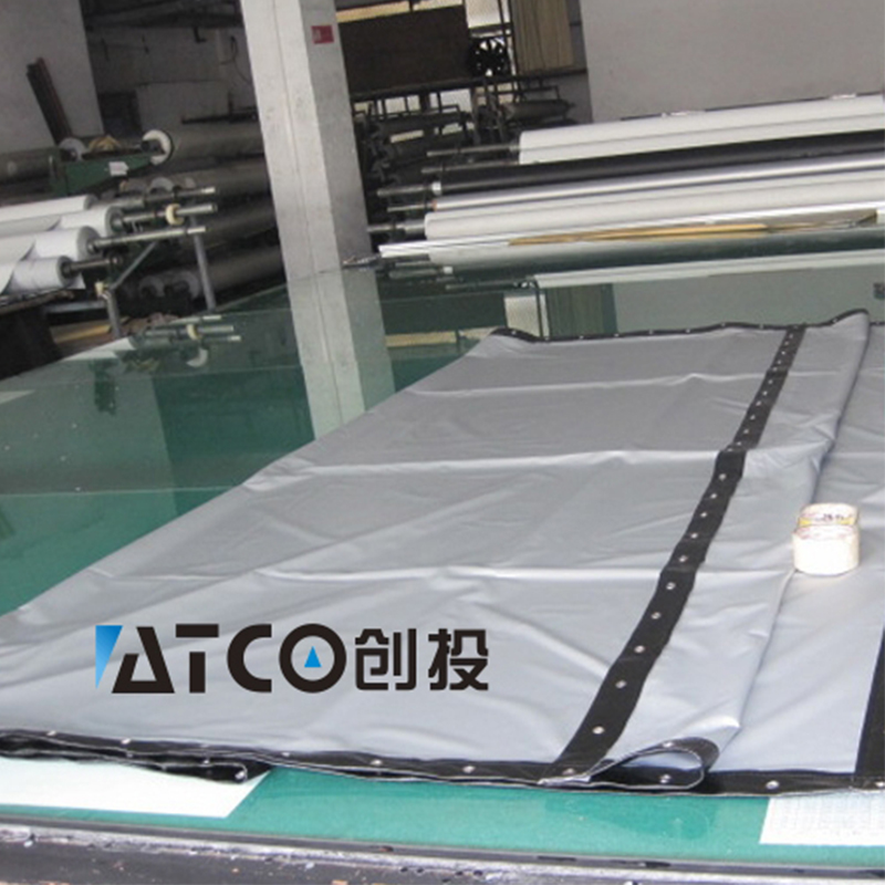 WZATCO 3D проекционный экран 250300 дюймов 16:9 3D Серебряный экран портативный передний без рамки можно сложить для FULL HD 3D проектора