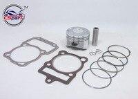 67MM Piston Kit Rings 250CC Shineray ZongShen Lifan Taotao ATV Quad Pit Bike Parts