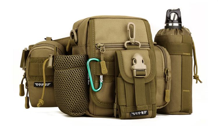 Sports & Entertainment Purposeful Tactical Molle Pouch Belt Waist Bag Military Fanny Pack Outdoor Pouches Phone Case Pocket Running Bags