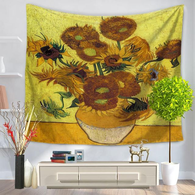 Polyester Tapestry Picasso Painting 150x130cm 150x200cm ...