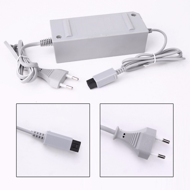 50pcs lots US/EU  AC Adapter 100   240V 12V 3.7A Wall Power Charger Supply for Nintendo Wii Gamepad Controller