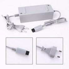 50pcs lots adaptateur secteur US/EU 100   240V 12V 3.7A alimentation chargeur mural pour contrôleur de manette Nintendo Wii