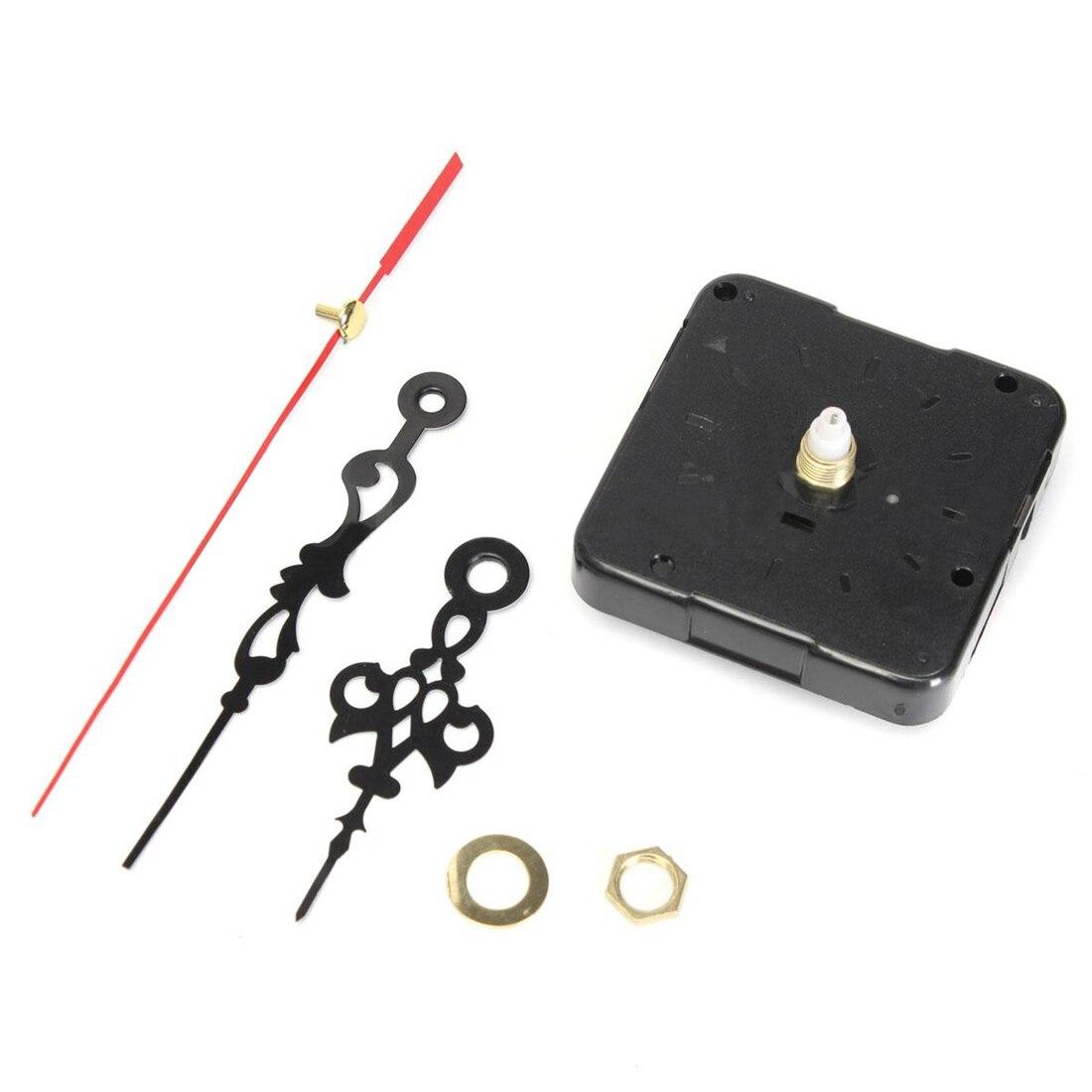 YCYS-Quartz Clock Movement Mechanism Module Repair DIY Kit Battery Powered With Hands