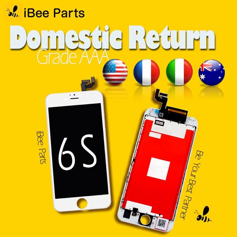IBee Pièces 10 pcs Grade AAA Pantalla ecran Pour Apple iPhone 6 s LCD Écran Tactile D'affichage Digitizer Assemblée Remplacement