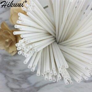 Image 2 - Lollipop Palo de plástico seguro para pastel, 100 Uds., ventosa para palos con Chocolate, azúcar, caramelo, herramienta de molde DIY, 10/15/20cm