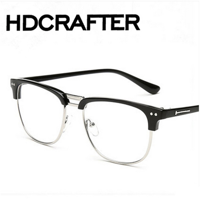 1e7a334f2706 Men/women Sunglasses Retro Metal Frame Eyeglasses Korean Glasses Optical  Circle Plain Mirror