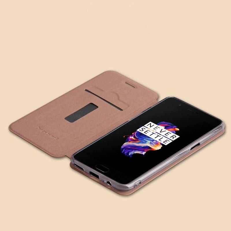 Γνήσια θήκη Mofi για Oneplus 5 Oneplus5 Cover Flip PU - Ανταλλακτικά και αξεσουάρ κινητών τηλεφώνων - Φωτογραφία 6