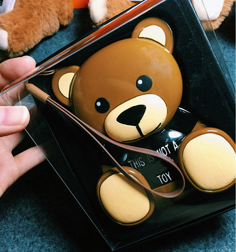 Lovely 12000mAh Powerbanks 12000 mah Cute Teddy Bear Mobile Power Bank Pack Best Birthday Gift
