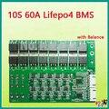 10 S lifepo4 60А 36 В BMS PCM 10 s lifepo4 батарея охраны доска bms pcm с балансировки lifepo4 батарея пакет