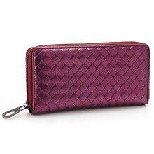 Imucaplus Brand New Design Soft Sheepskin Genuine Leather Female Wallets Multi Card Holder Long Lady Purse Wallet Women