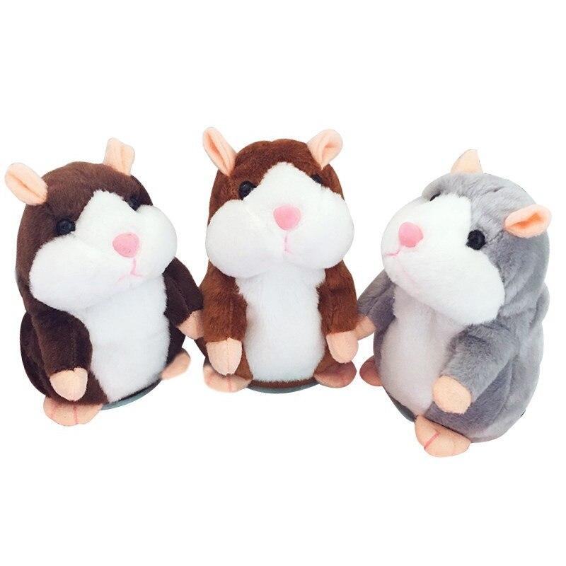 Hamster Copier Voix Pet Enregistreur Parler Hamster En Peluche Jouet, drôle très agréable de Prendre Hamster jouets Bébé Jouet Cadeau