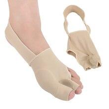 2Pcs=1Pair Soft Silicone Bunion Corrector Socks Thumb Hallux Valgus Protector Guard Toes Su