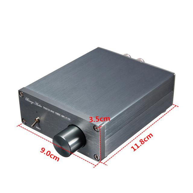 Breeze Audio BA100 TAP3116 amplifier audio Class D  Power amplifiers NE5532P Stereo amplifier 50W + 50W amp