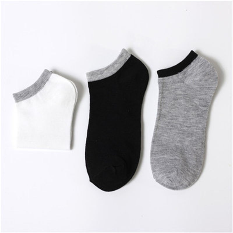 Socks Men's Socks Cotton Summer Deodorant Sweat Summer Thin Cotton Socks Low Help Shallow Invisible Boat Socks Men's Socks