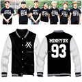 2016 Sale Real Regular Sweatshirt Chandal Hombre Assassins Creed Monsta X Kpop Hoodie Clothing Rush I.m Shownu Baseball Jacket