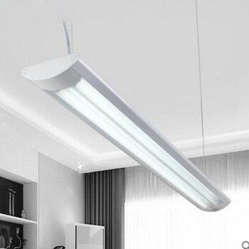 Led fluorescentielamp volledige set van t8 dual streep beugel lamp opknoping tweeërlei gebruik kantoor LED kantoor armatuur led lampen licht