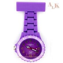 Клип на fob медсестры смотреть Японии Брошь Висит Часы для медсестры Для мужчин Для женщин Карманные часы Relogio Часы Кварцевые