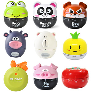 NEW Creative Cute Frogs Kitchen Mechanical Timer 60 Minutes Cooking Dial Timer Reminder For Shop Home Kitchen Gadget Gift(China)
