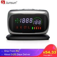 Junsun Car Radar Detectors 2 In 1 Police Speed GPS For Russian LED Display 360 Degree