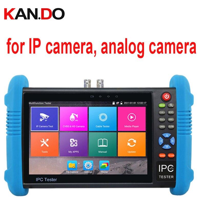 9800 MOVTADHS Plus IP & Analog AHD,HD-TVI,CVI,SDI camera test CAMERA Tester W/ Screen display cctv camera display for IP camera 2017 new hot sale 7inch cctv tester for ipc 9800 movtadhs plus