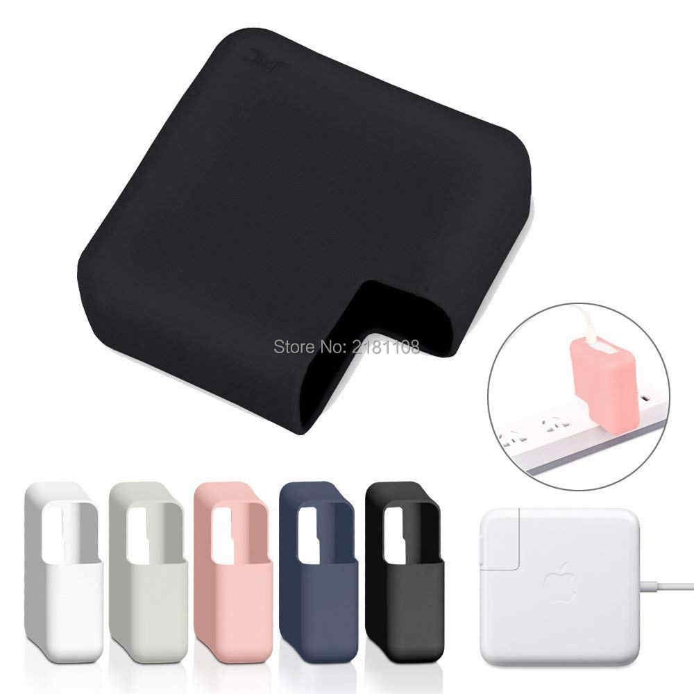 """Ultra Dunne Siliconen Charger Protector Case Voor Macbook Ipad Air 13 """"Pro 12 15"""" A1278 A2179 A1706 A1707 45W 60W 85W 96W 30W"""