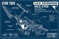 Бесплатная доставка звездный путь TOS энтерпрайз крейсер принципиальная о фильме печатных шелковое отделка стен 12 x 18 24x36in GJ168