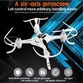Mini RC Quadcopter RTF 2.4G 4CH Biomiméticos Projeto de 360 Graus 6 axis Gyro Controle Remoto Zangão Quadcopte FY530 Pode adicionar bateria