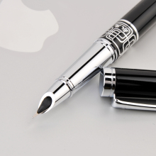 Wingsung Extra Fine Nib 0.38mm Fountain Pen for Finance Luxury Metal I