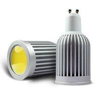 Dimmable Super Bright LED Lamp Bulb COB GU10 E27 5w 7w 9w GU 5 3 Spotlight