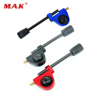 Adjustable Compound Bow Suppressor Bow Stop Device in Red/Blue/Black Archery Accessories for Bow Hunting