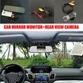 5 ''TFT LCD Автомобиля Зеркало Заднего Вида Монитор + HD CCD Водонепроницаемая Камера автомобиля Для Volkswagen VW Up/SEAT Mii/Skoda Citigo 2011 ~ 2015